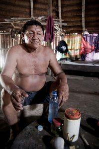 Amazon healer Baribú Geraga 'Gustavo' Mejia Makuna