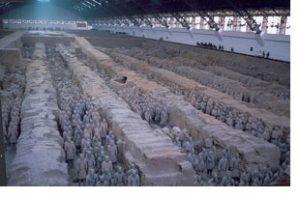 xian terracotta soldiers