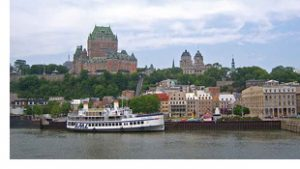 Chateau Frontenac dominates Quebec City skyline