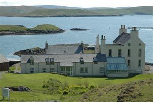 Shetland Islands Burrastow House