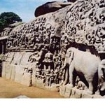 Ancient Stone Sculptures in Mamallapuram, India