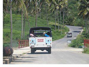 Island Safari's jeep