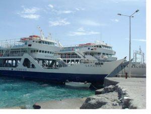 Samaria to Sougia ferry
