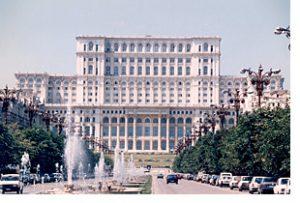 Parliament, Bucharest Romania