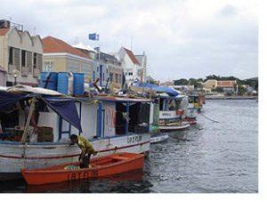 curacao punda waterfront market