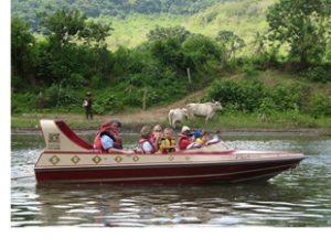 Sigatoka River jet boat