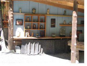 gallery on Galiano island