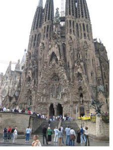 Gaudi Sagrada Familia Barcelona