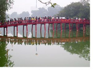 bridge in hanoi vietnam