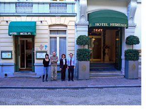 Two Bruges hotels