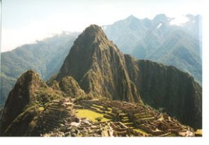 Machu Picchu with Huayna Picchu in back
