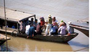 Cambodia mekong river boat