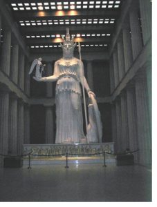 statue of athena in nashville tn