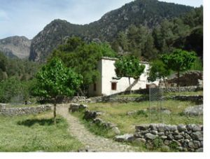 village near samaria gorge