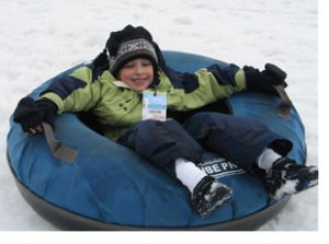 snow tubing at whistler bc