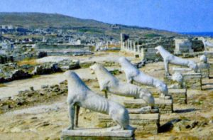 Lion Plaza, Delos, Greece