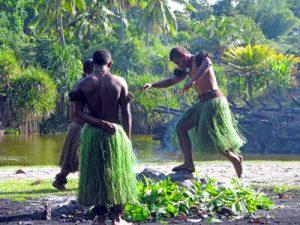 Fiji firewalkers