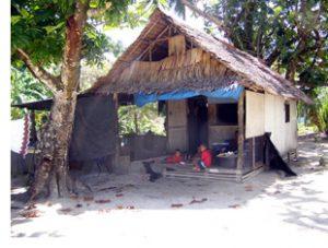 house on Kosrae
